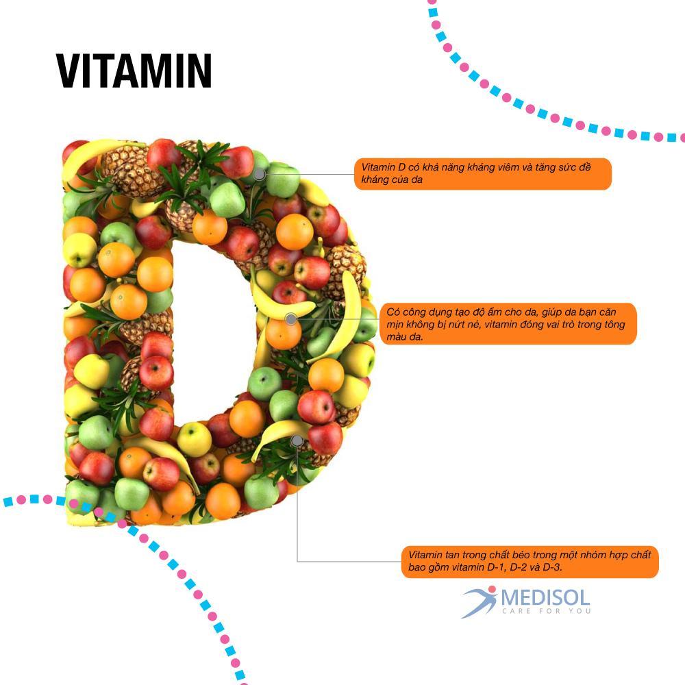 4 loại Vitamin tốt nhất cho da